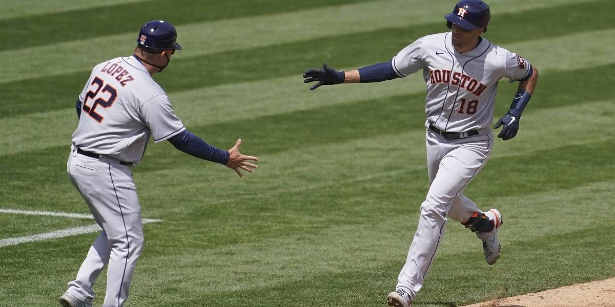 Astros barren serie inaugural ante Atléticos