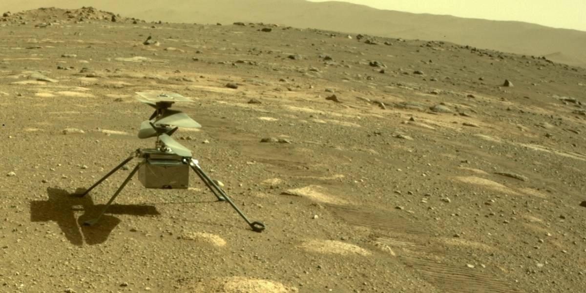 Hallan una misteriosa roca en Marte