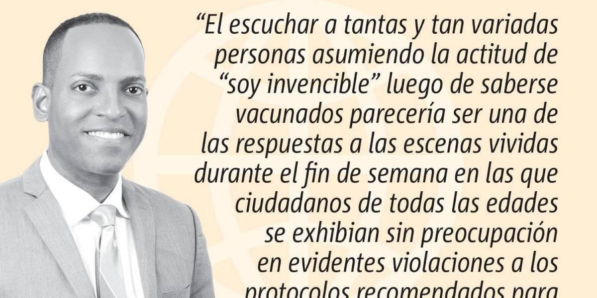 Opinión de Julio Rivera Saniel:  ¡No te preocupes! ¡Estoy vacunado!