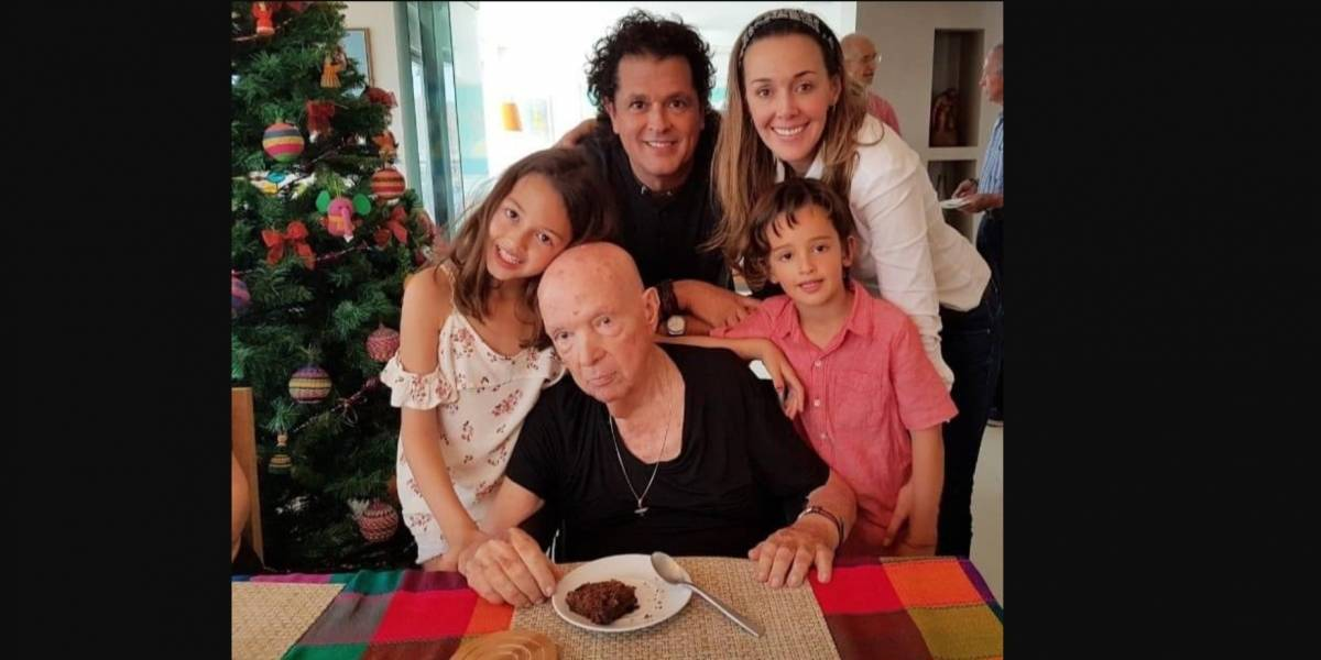 Falleció el papá de Carlos Vives, Luis Aurelio Vives