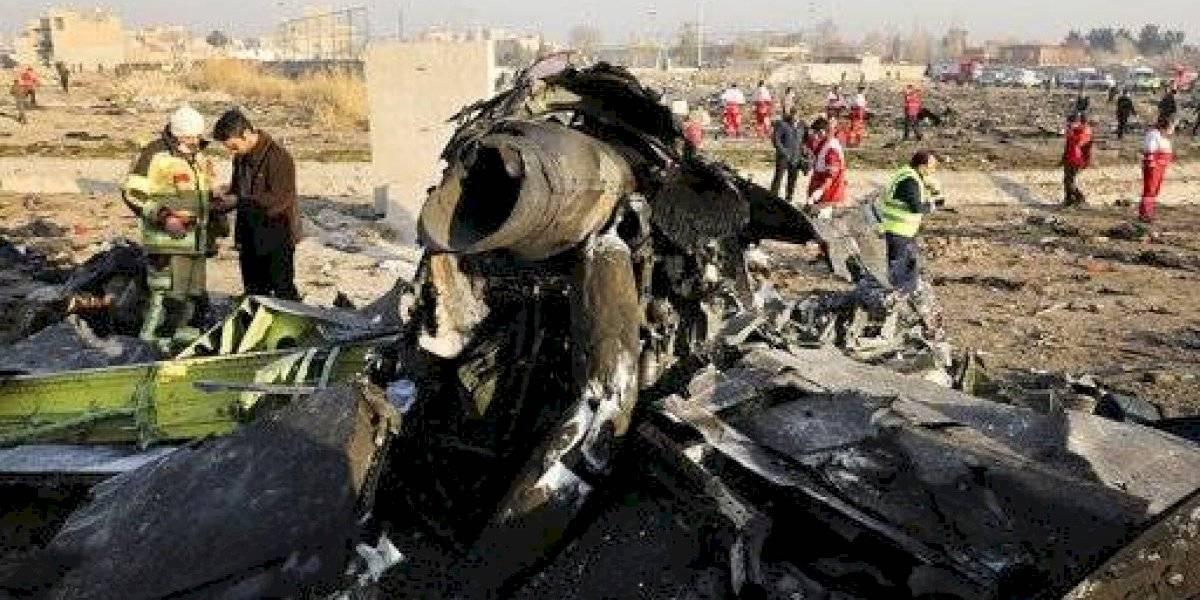 Irán procesa a 10 personas por derribar un avión en 2020