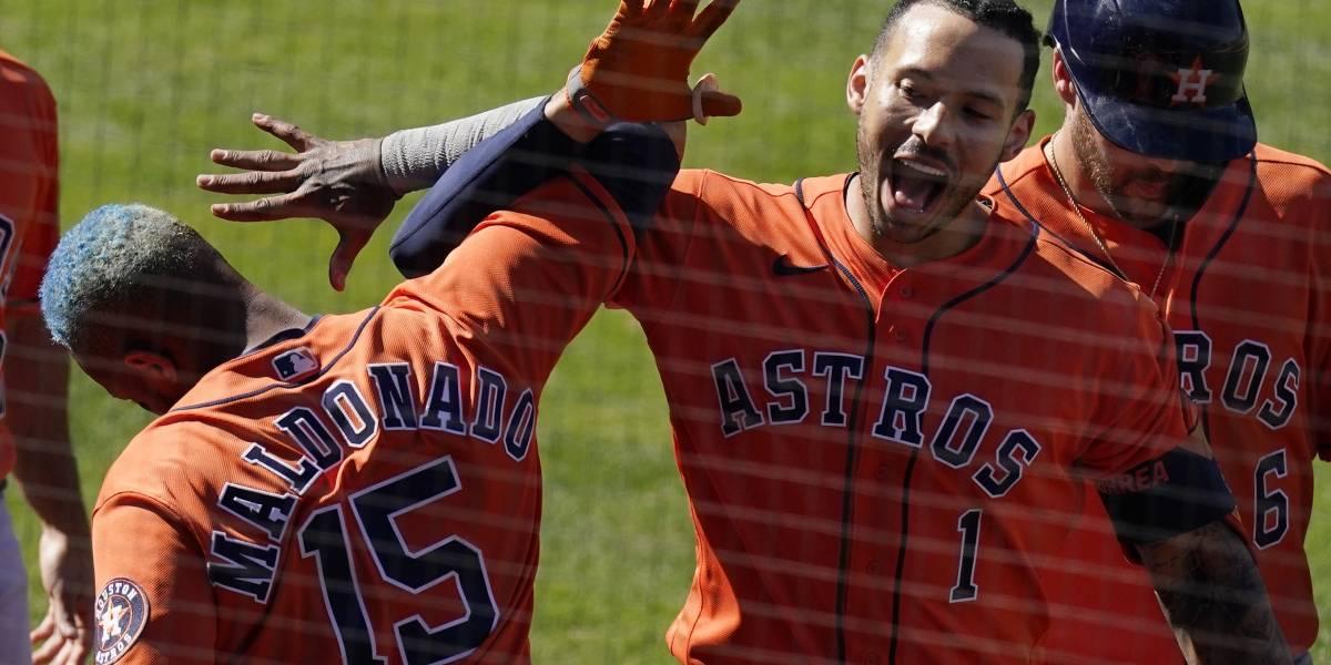 Jonrón de Correa en la 9na da triunfo a Astros