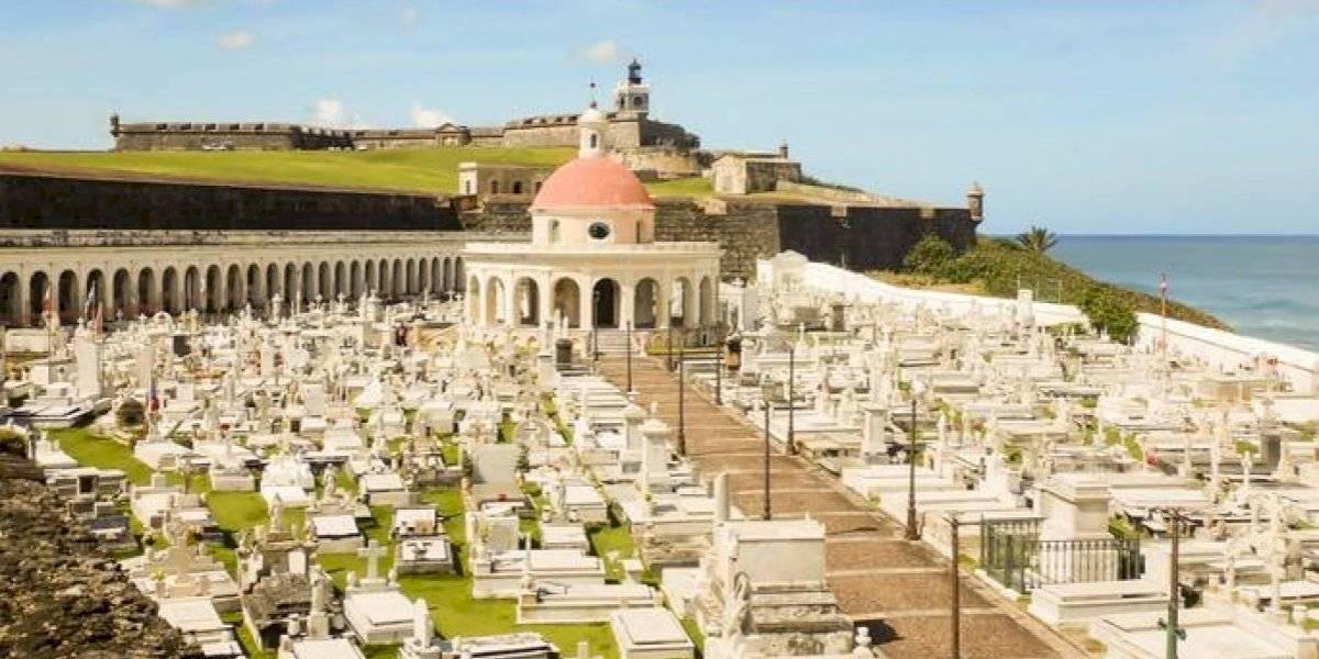 Delincuentes causan daños en el histórico cementerio Santa María Magdalena de Pazzis en Viejo San Juan