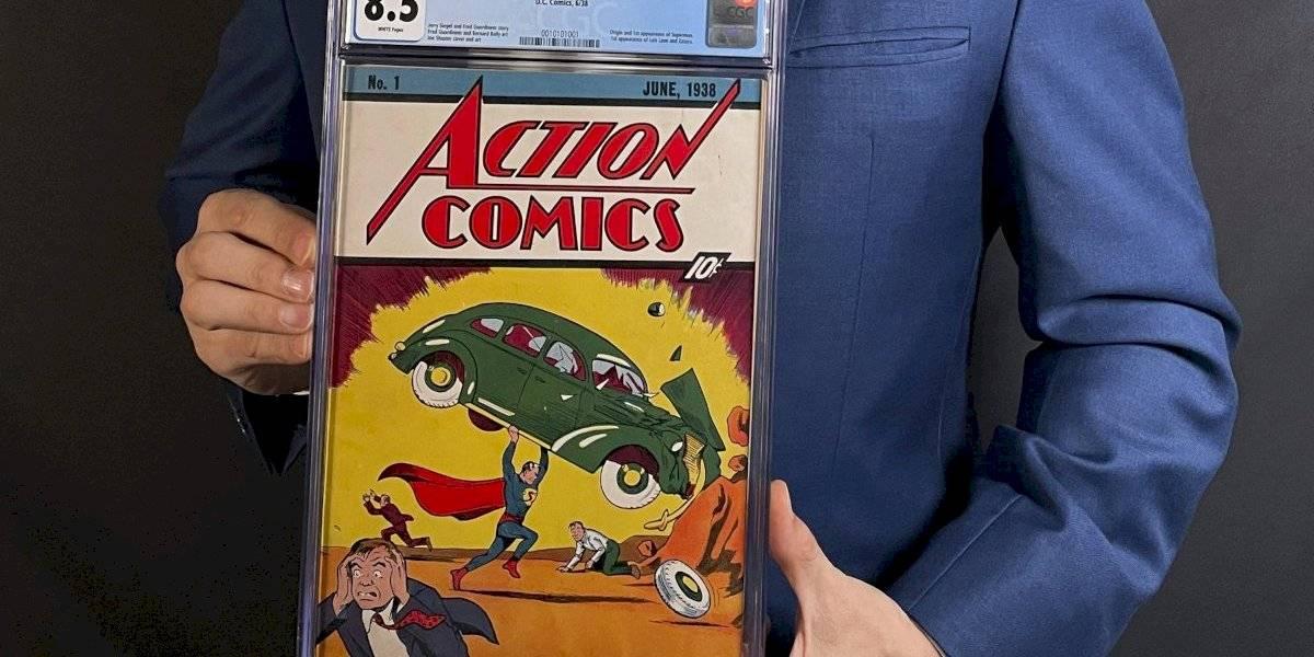Cómic de Superman se vende por $3.25 millones