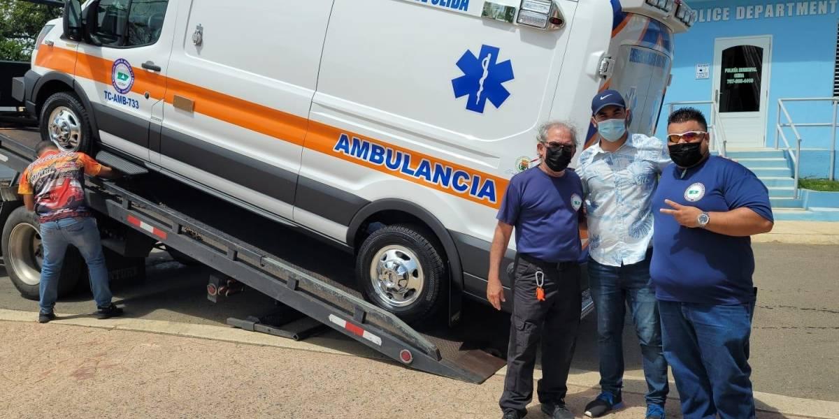 Municipio de Ceiba recibe nueva ambulancia