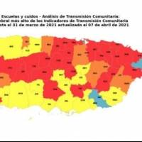 38 municipios no podrán abrir escuelas por altos niveles de contagio COVID-19