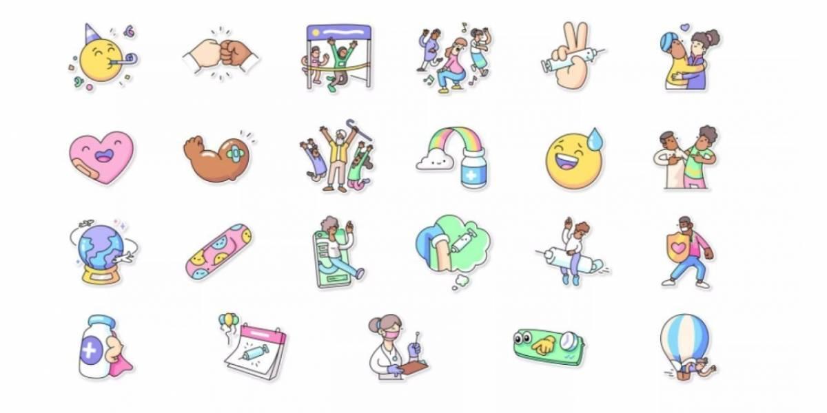 WhatsApp agrega 'stickers' alusivos a la vacunación contra el COVID-19