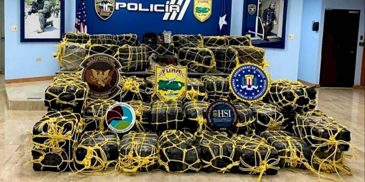 Policía incauta en Yabucoa cargamento de cocaína valorado en $50 millones