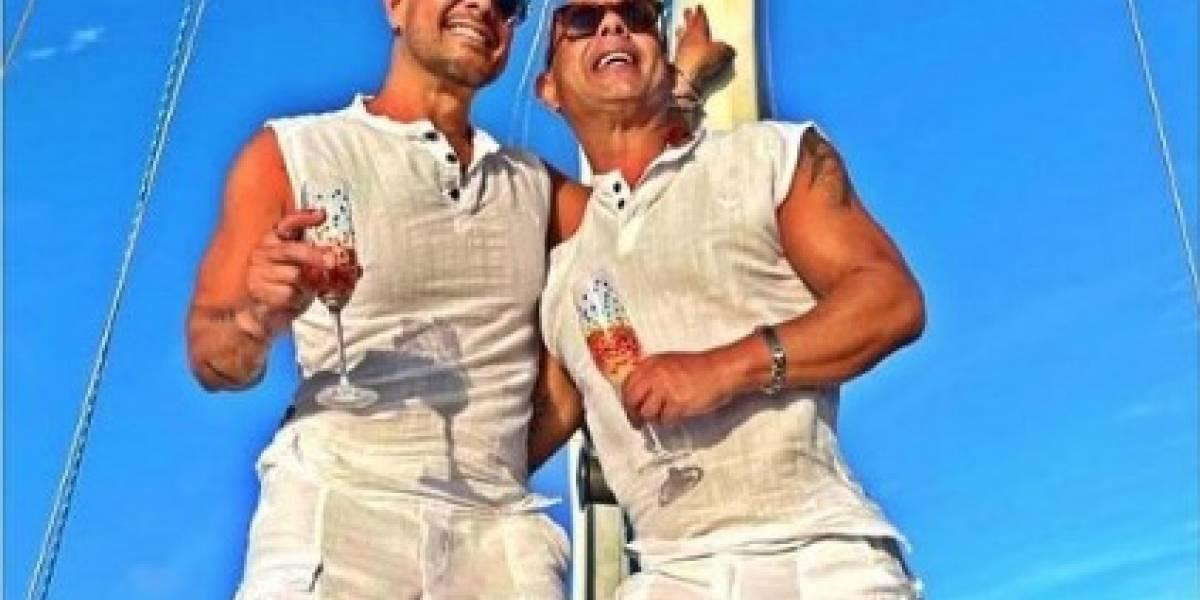 Actor y productor boricua se casa en alta mar