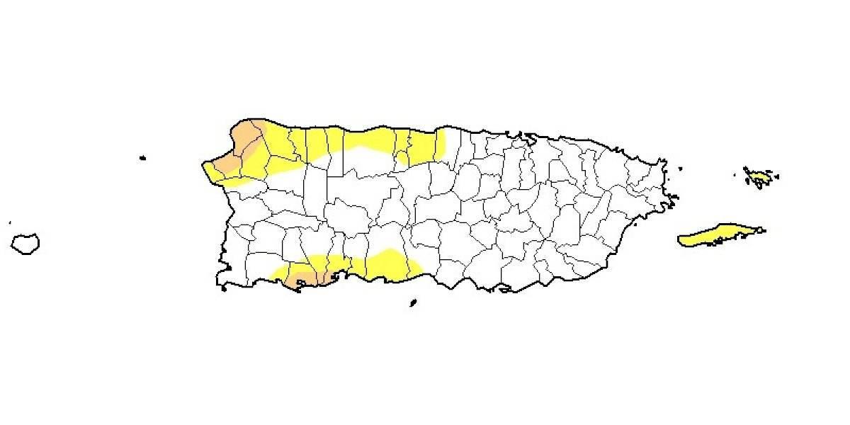 Se reduce el área bajo sequía en Puerto Rico