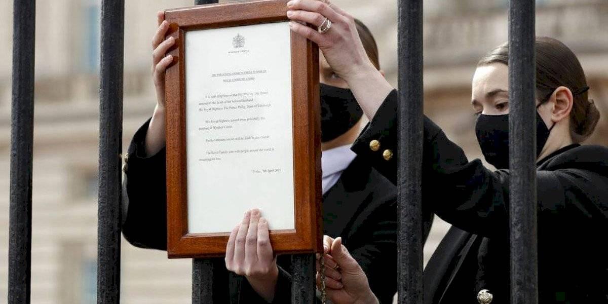 Gran Bretaña llora la partida del príncipe Felipe