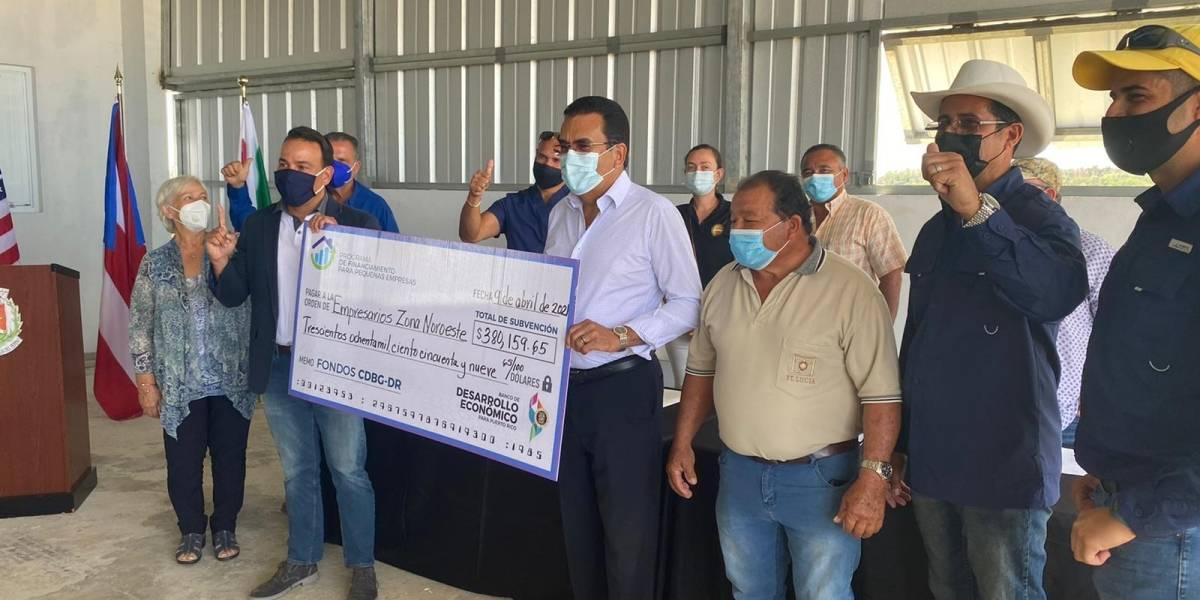 Agricultores de San Sebastián reciben cerca de $400 mil en subvención del BDE