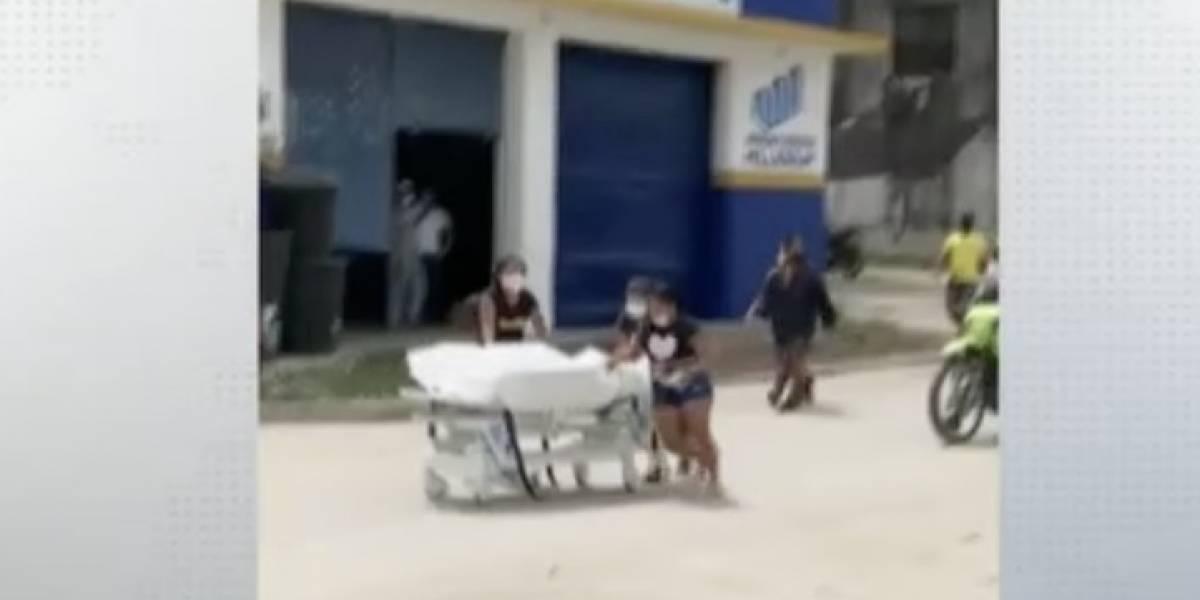 Familia roba cadáver de hombre que murió por COVID, lo pasearon por pueblo en Colombia