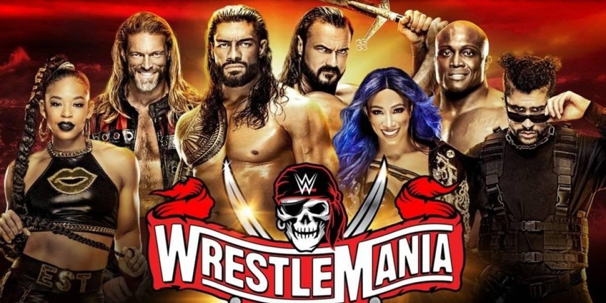 ¿Cuál será la cartelera de las dos noches en Wrestlemania 37?