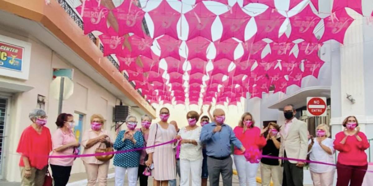 Inauguran Paseo de las Chiringas Rosadas en Juncos