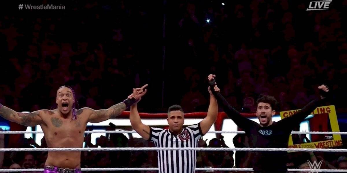 Triunfal Bad Bunny en Wrestlemania