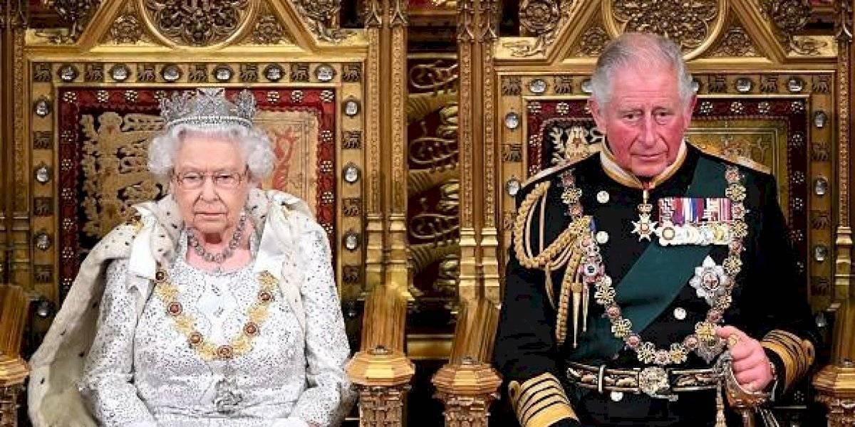 El príncipe Carlos reacciona a la muerte de su padre Felipe