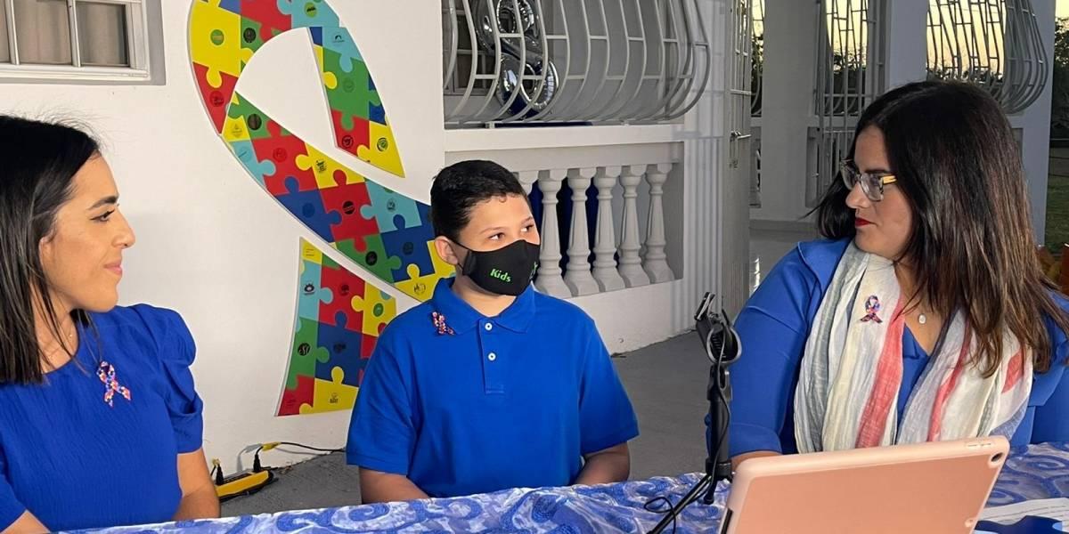 Hermano de niño con autismo recomienda paciencia y atención para las personas con este diagnóstico