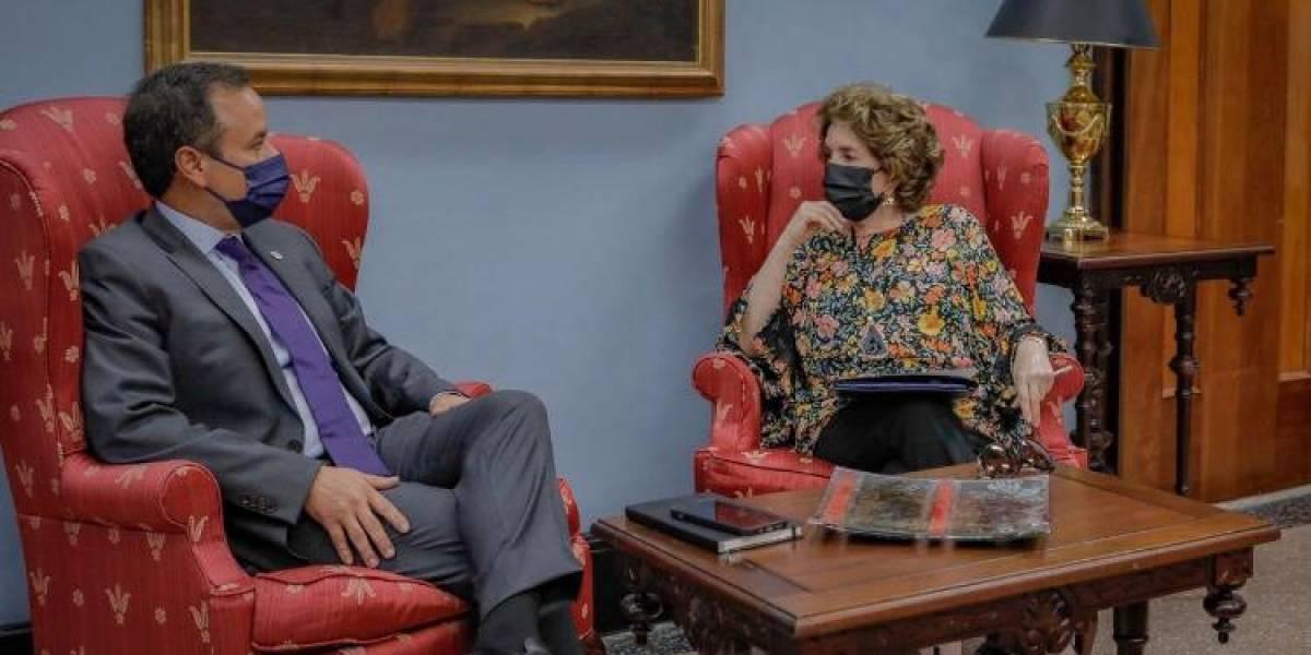 Miguel Romero se reúne con la exgobernadora Sila Calderón para asuntos sobre Río Piedras