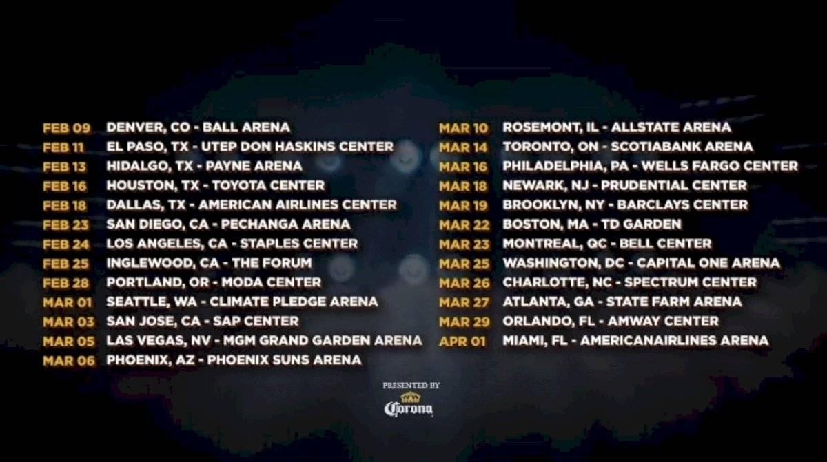 Bad Bunny anuncia gira de conciertos para el 2022 | Metro