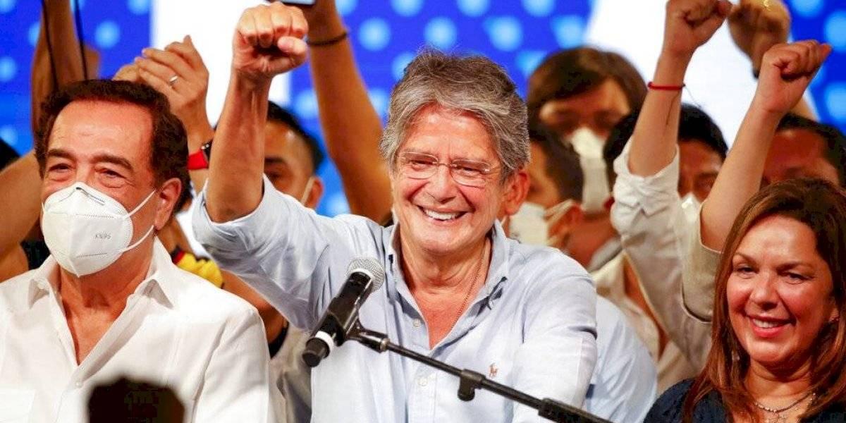 Guillermo Lasso se proclama ganador de elecciones presidenciales en Ecuador