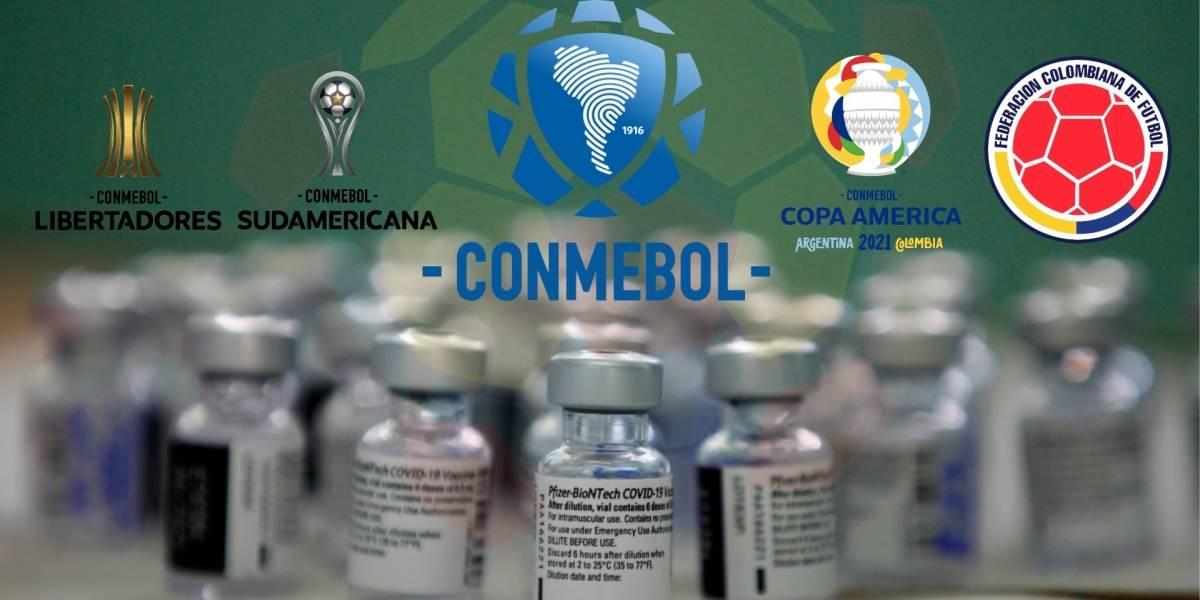 SELECCIÓN COLOMBIA | Conmebol recibirá vacunas para la realización de la  Copa América 2021