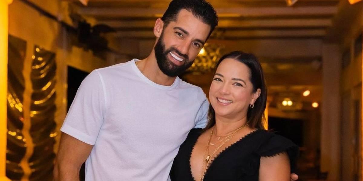 Adamari López presume lo guapo que se ve su prometido con su nuevo look