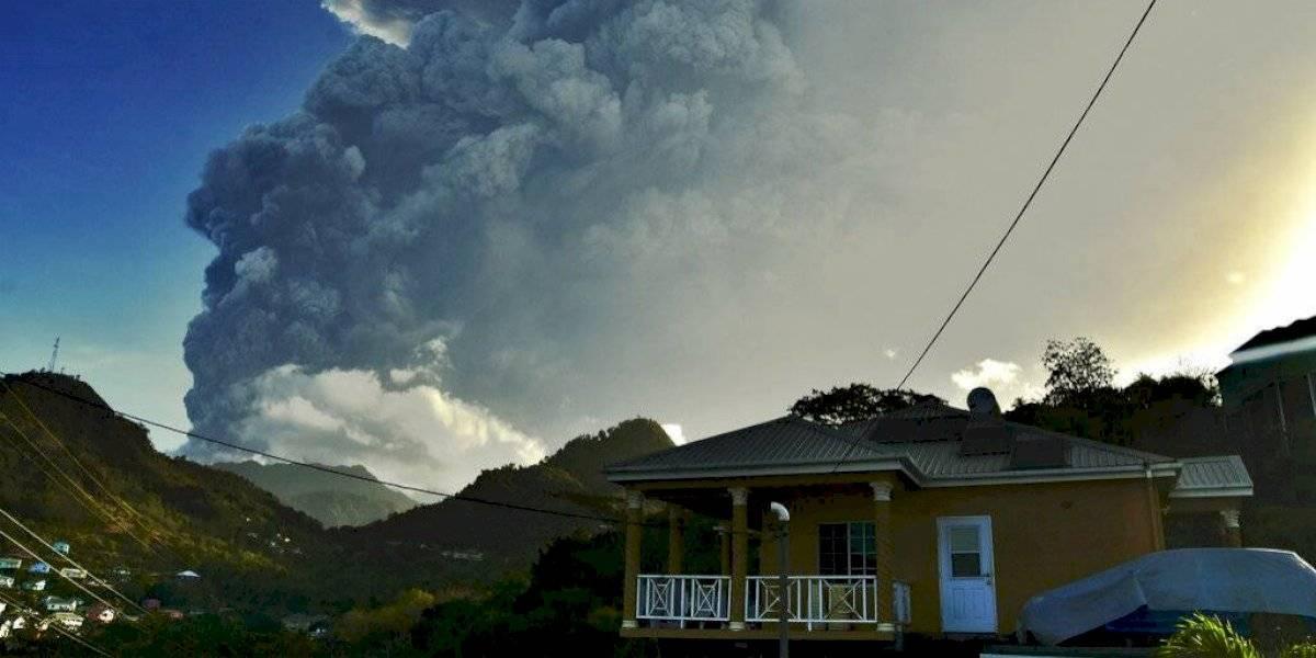Nueva erupción de volcán en San Vicente