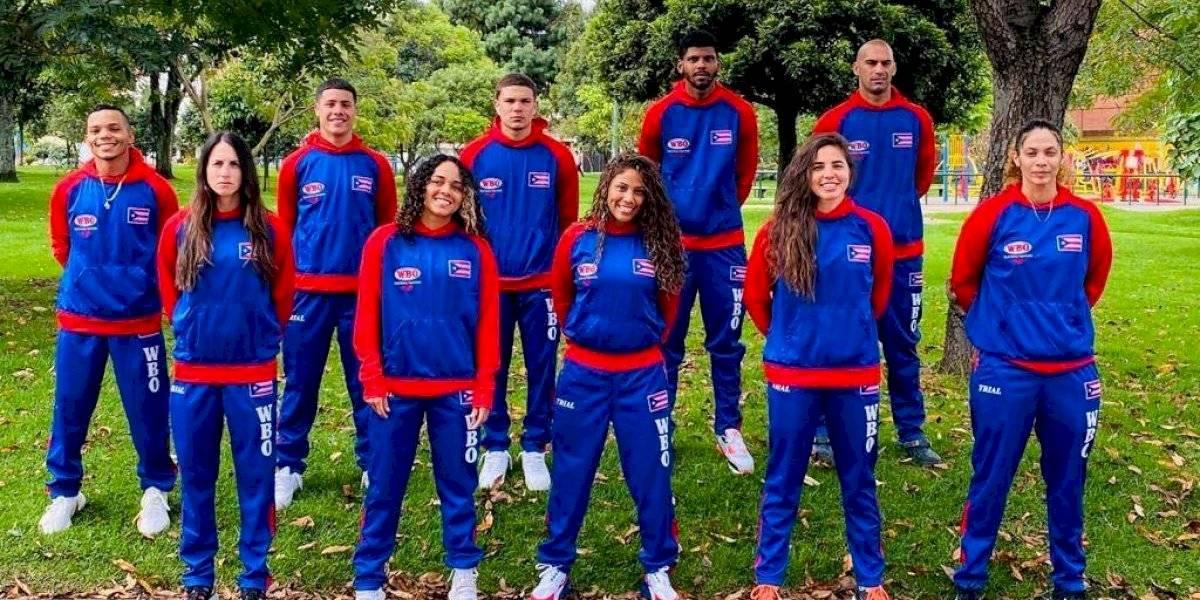 Selección de Boxeo de Puerto Rico estrena uniforme camino a clasificatorio preolímpico