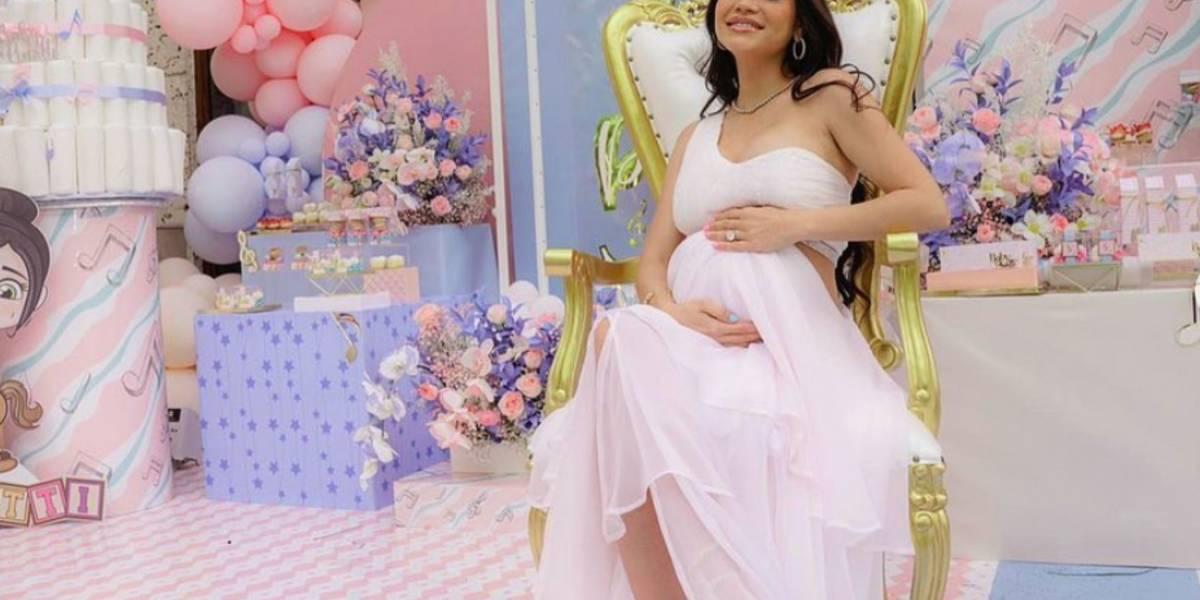 Así Natti Natasha da la bienvenida la vida de su hija