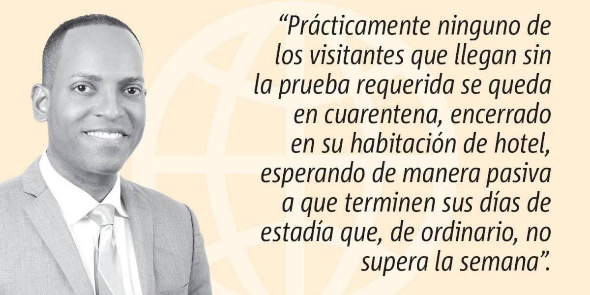 Opinión de Julio Rivera Saniel: La cuarentena obligatoria que no se obliga