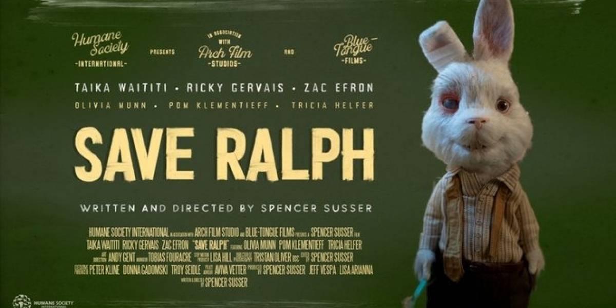Save Ralph, el video que narra el sufrimiento de los animales de experimentación