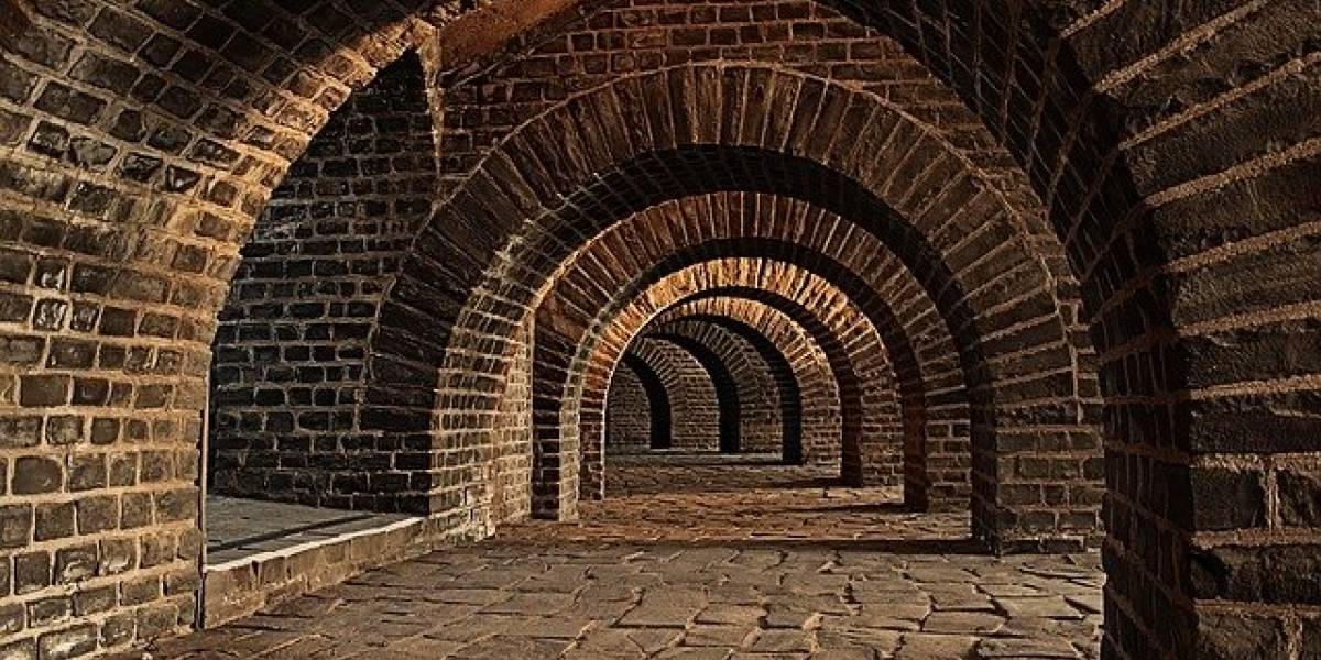 Pareja descubre un misterioso túnel de hace cientos de años debajo de su casa