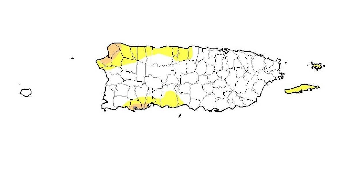 Casi sin cambios el área bajo sequía en Puerto Rico