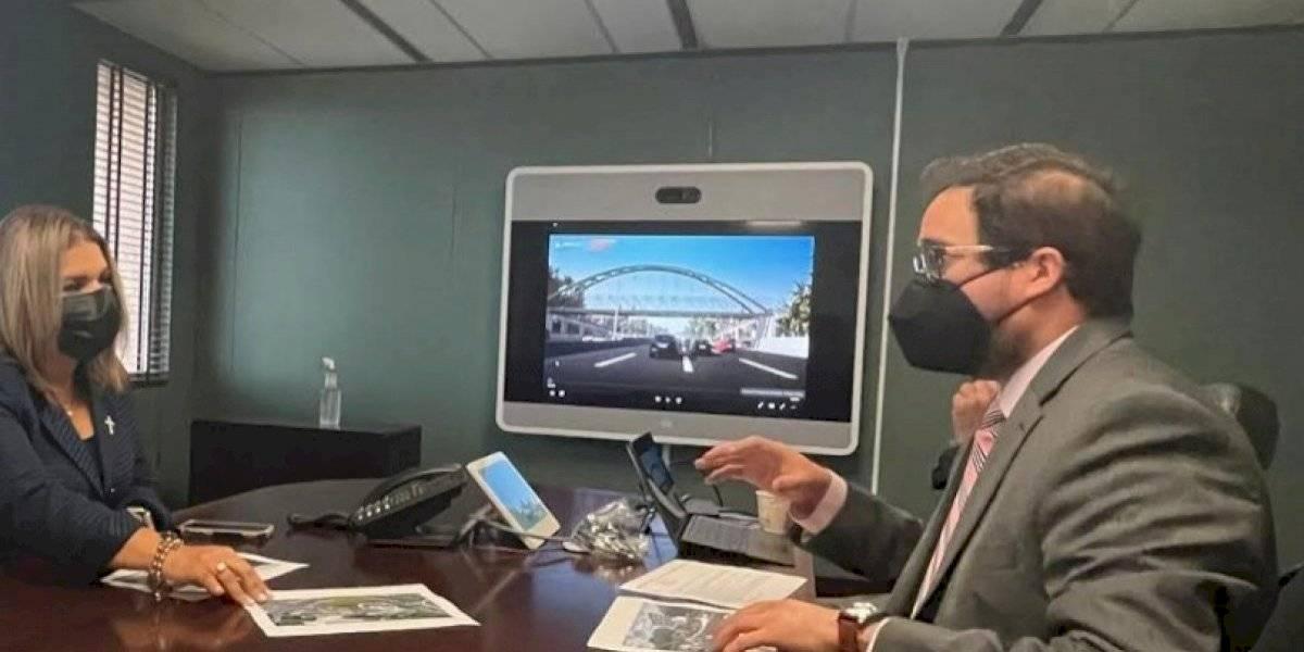 A todo vapor construcción del puente peatonal en hospital de área del Municipio de Carolina