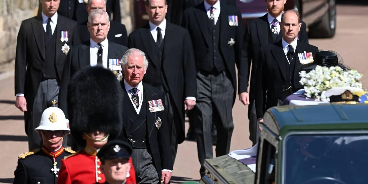 Príncipe Felipe: quiénes son los únicos 30 invitados que asisten al funeral privado
