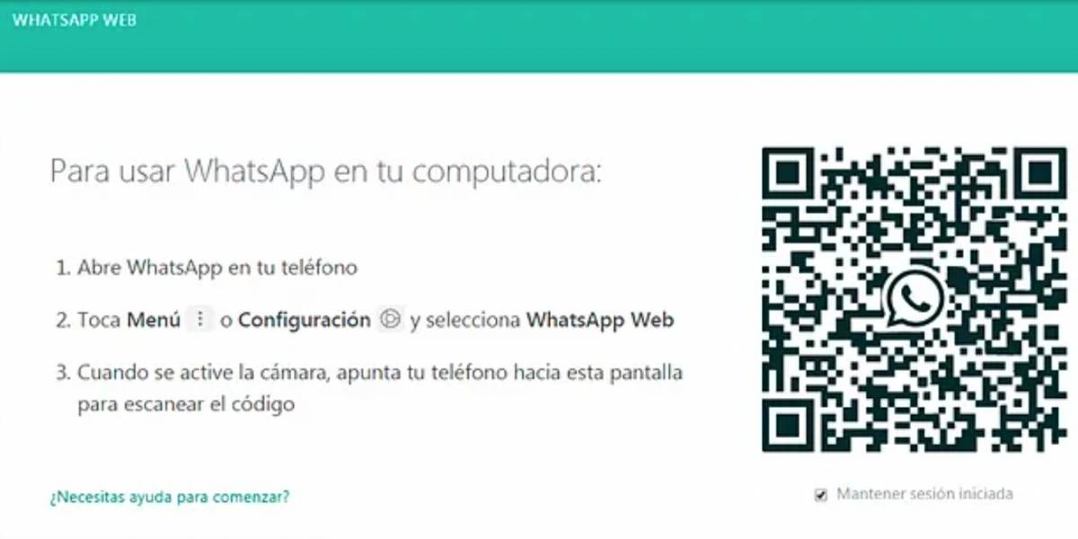 Cómo iniciar sesión en WhatsApp Web con huella dactilar