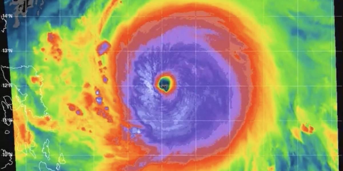 Surigae se convierte en el ciclón tropical más fuerte