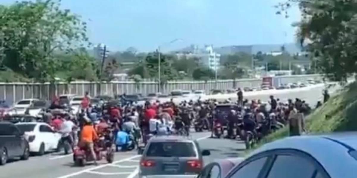 Radican proyecto para penalizar con tres años de cárcel a quien obstruya una autopista