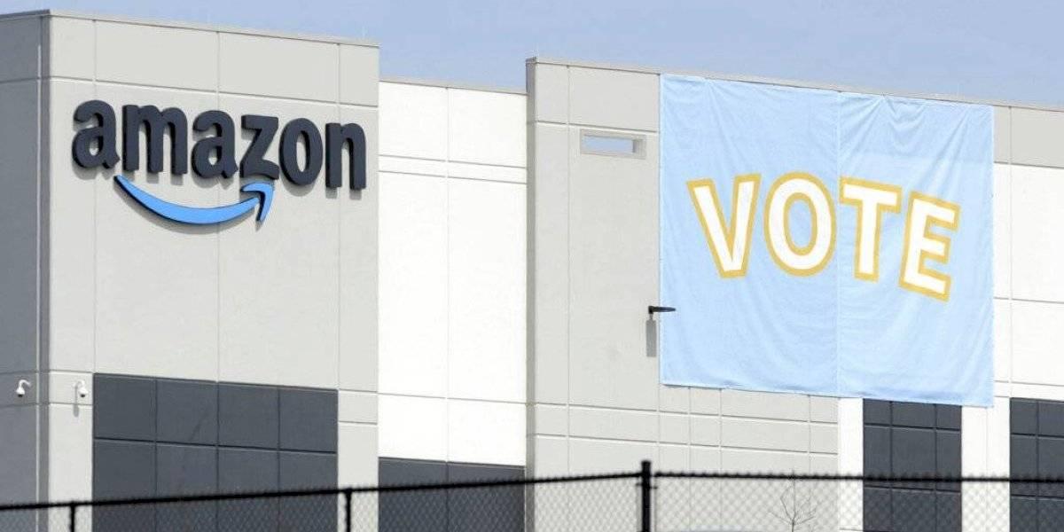 Sindicato denuncia intervención de Amazon en votación