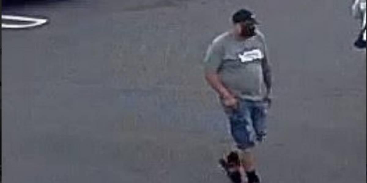 Piden pistas para dar con identidad de esta persona sospechosa de robar un auto