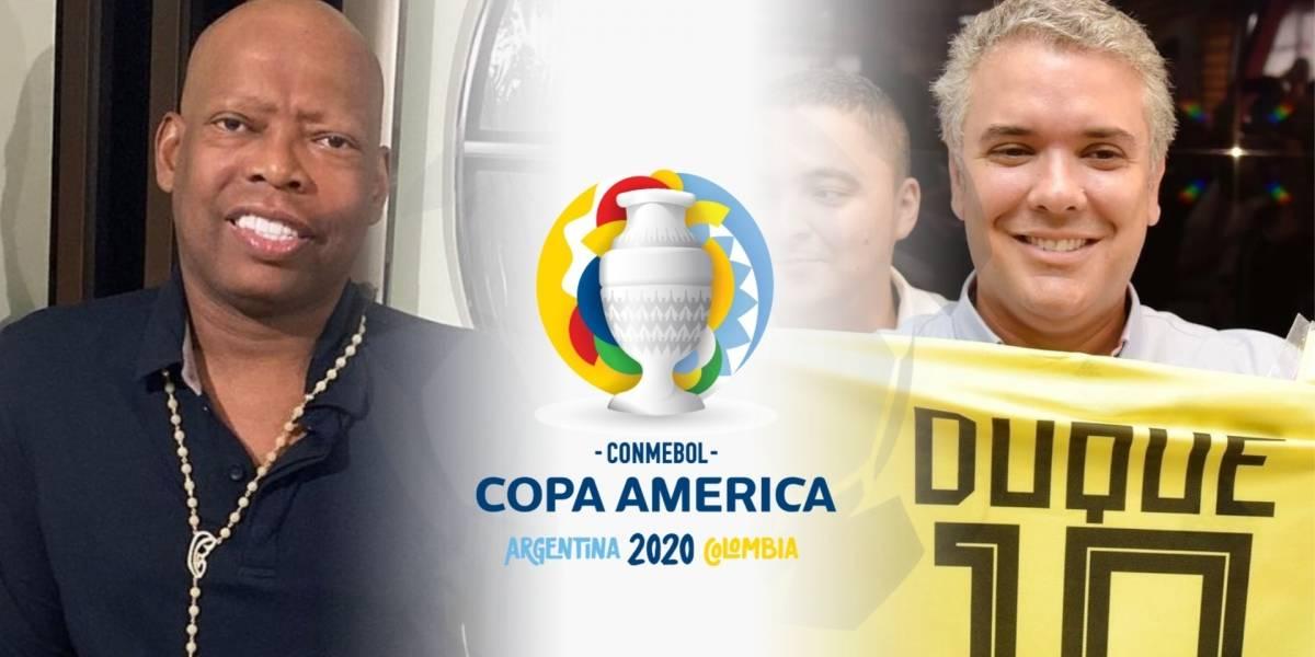 SELECCIÓN COLOMBIA | Faustino 'El Tino' Asprilla pide a Iván Duque no hacer Copa  América 2021 en Colombia por el COVID-19 (EXJUGADORES COLOMBIANOS,  Conmebol, Pandemia en Colombia)