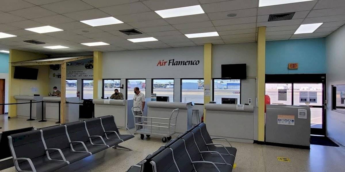 Puertos completa mejoras al terminal aeropuerto regional de Isla Grande