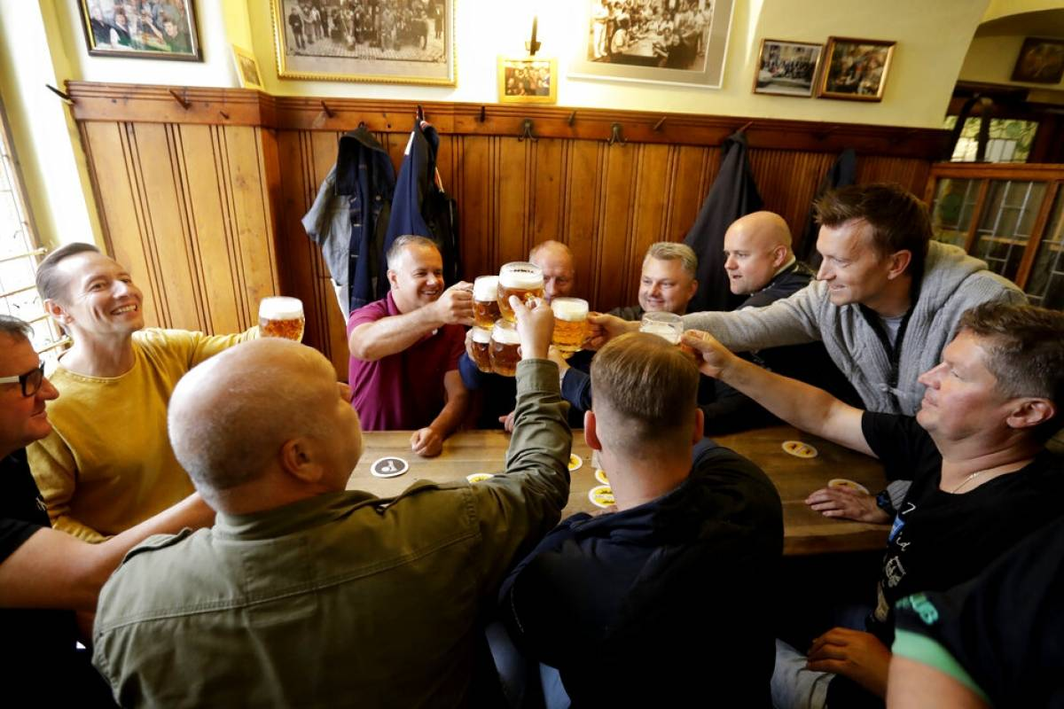 Beer consumption is declining in the Czech Republic due to coronavirus