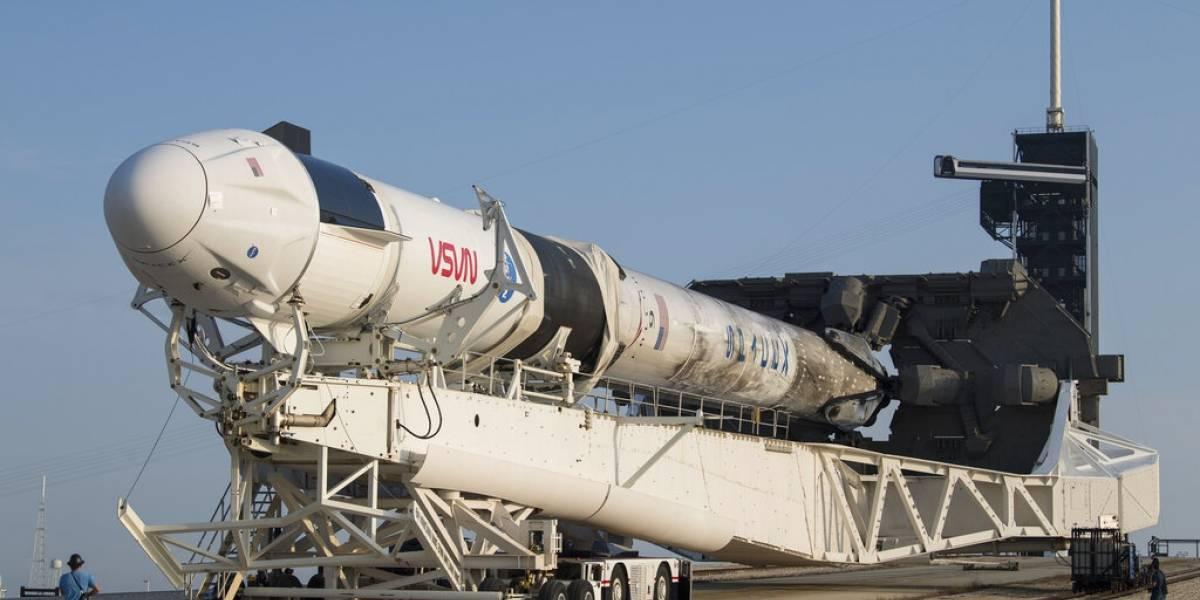 NASA recicla cápsula y cohete de Space X para astronautas