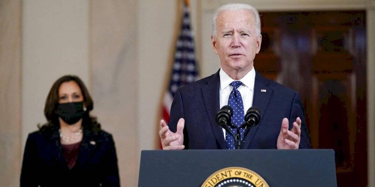 Biden asegura que Estados Unidos no puede detenerse en lucha contra racismo