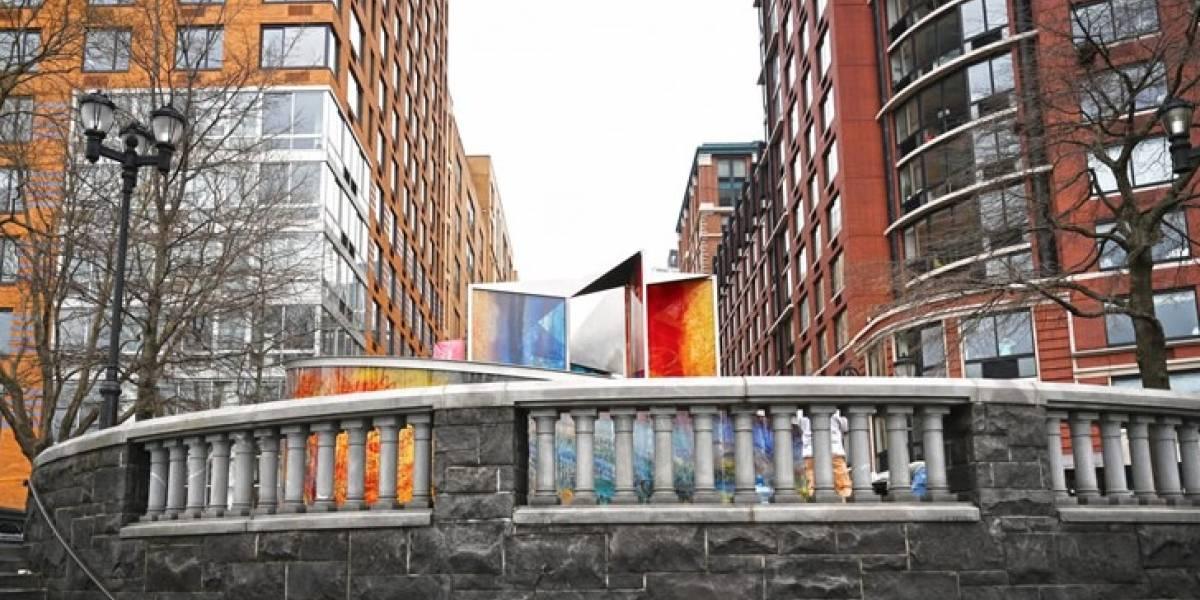 Crean monumento en Nueva York en honor a las víctimas del huracán María en Puerto Rico