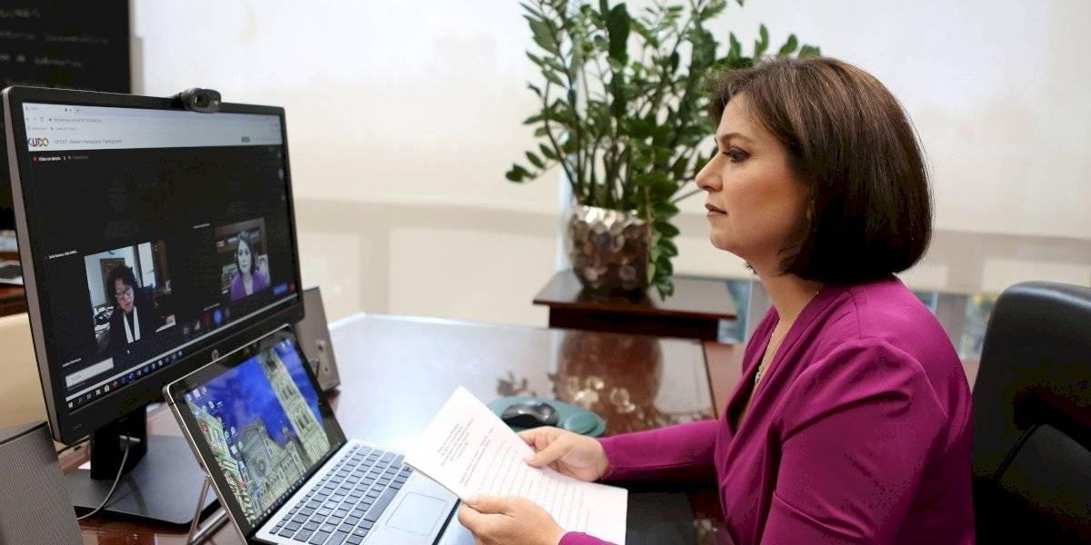 Juezas Sotomayor y Oronoz hablan con jueces latinoamericanos en sesión virtual