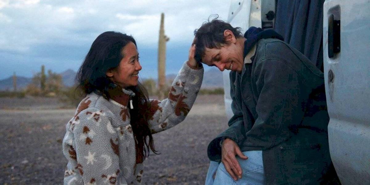 """En posible ensayo para el Oscar, """"Nomadland"""" gana el Spirit"""