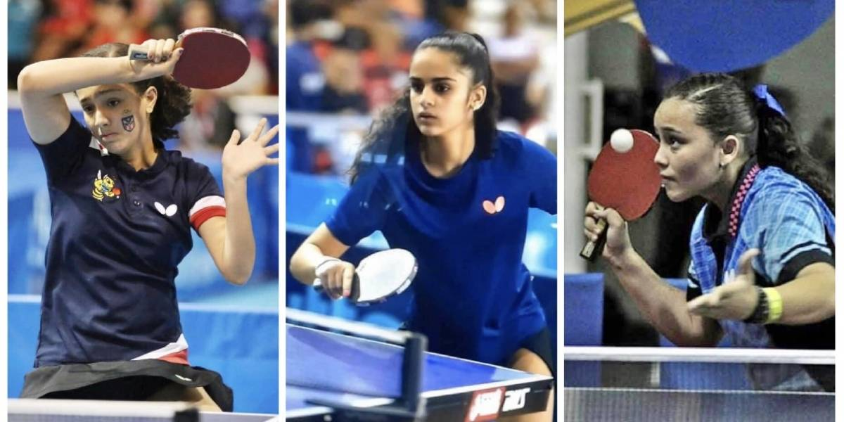 Jóvenes cayeyanas plantan bandera en Europa como deportistas del tenis de mesa